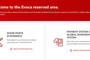 EVOCA Group's New Parts Site
