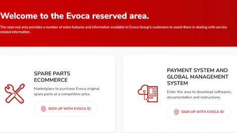 EVOCA Group's New Parts Site