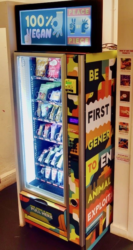 vegan vending machine