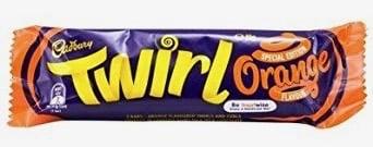 Cadbury's Orange Twirl