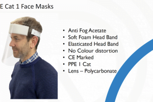 PPE Cat I Face Masks