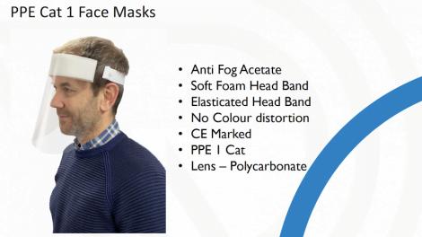 PPE Cat I Face Masks