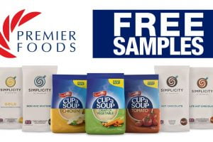 premier foods giveaway free samples